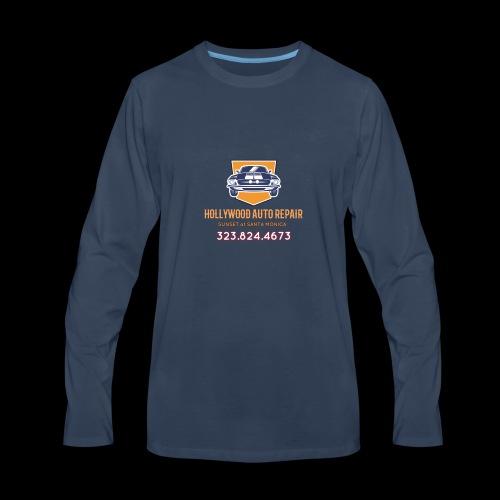 CLASSIC CARS! CLASSIC HOLLYWOOD! - Men's Premium Long Sleeve T-Shirt