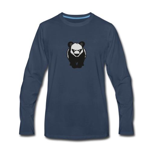 Ken's YouTube Panda Mascot - Men's Premium Long Sleeve T-Shirt