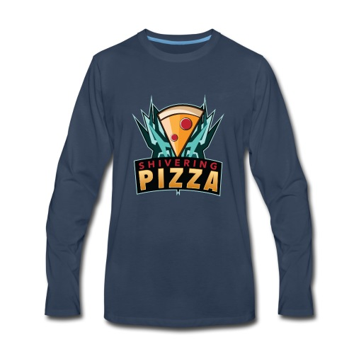 Shiveringpizza Logo - Men's Premium Long Sleeve T-Shirt