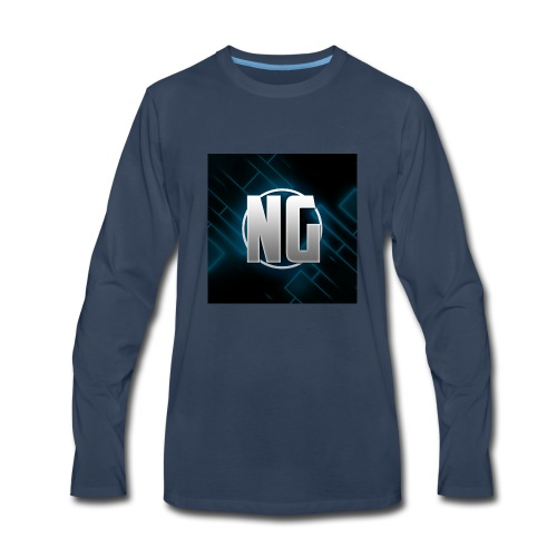 NadhirGamer Merch - Men's Premium Long Sleeve T-Shirt