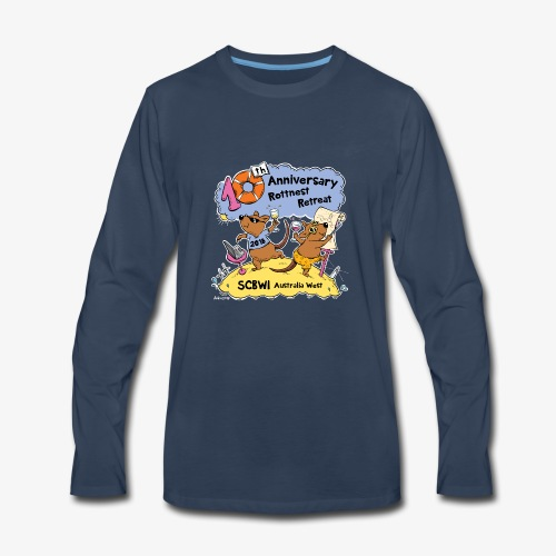 SCBWI 2018 (5) - Men's Premium Long Sleeve T-Shirt