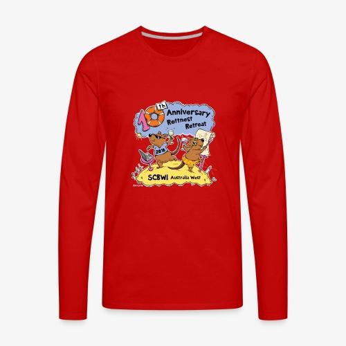SCBWI 2018 (5) - Men's Premium Long Sleeve T-Shirt