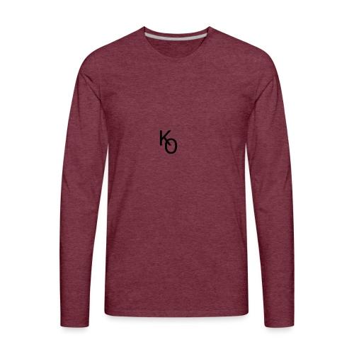 K Over The O - Men's Premium Long Sleeve T-Shirt