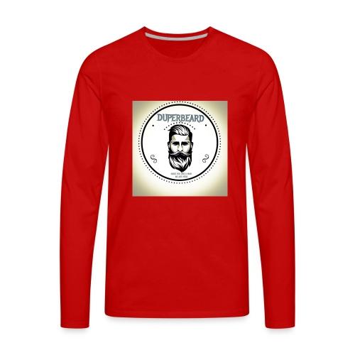 DUPERBEARD - ORIGINAL OIL - Men's Premium Long Sleeve T-Shirt