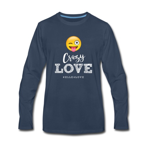 Crazy Love - Men's Premium Long Sleeve T-Shirt