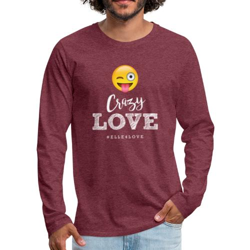 Crazy Love - Men's Premium Long Sleeve T-Shirt