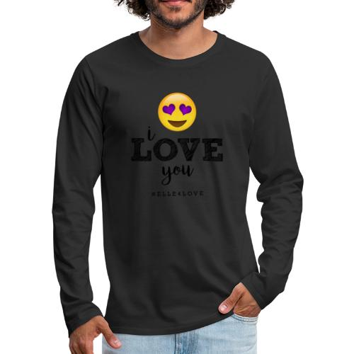 I LOVE you - Men's Premium Long Sleeve T-Shirt