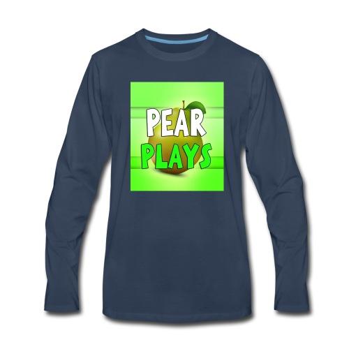 Phone Case Pear Plays Logo - Men's Premium Long Sleeve T-Shirt