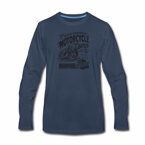 Motorcycle Camp - Men's Premium Long Sleeve T-Shirt
