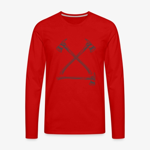 fire 5 - Men's Premium Long Sleeve T-Shirt