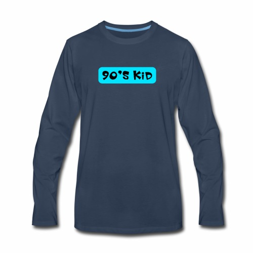 90's KID - Men's Premium Long Sleeve T-Shirt