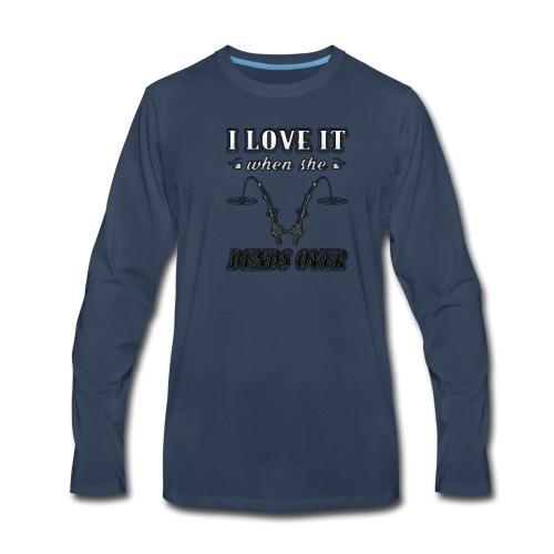 Bends Over | t-shirt custom ink - Men's Premium Long Sleeve T-Shirt