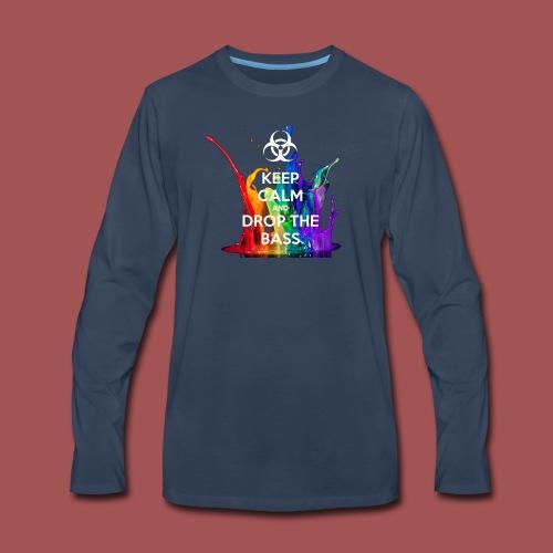 Drop The Bass - Men's Premium Long Sleeve T-Shirt