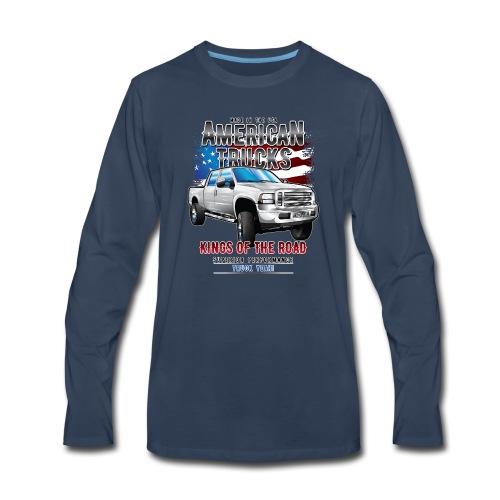 American Trucks Ford F250 - Men's Premium Long Sleeve T-Shirt