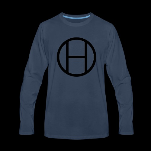 logo premium tee - Men's Premium Long Sleeve T-Shirt