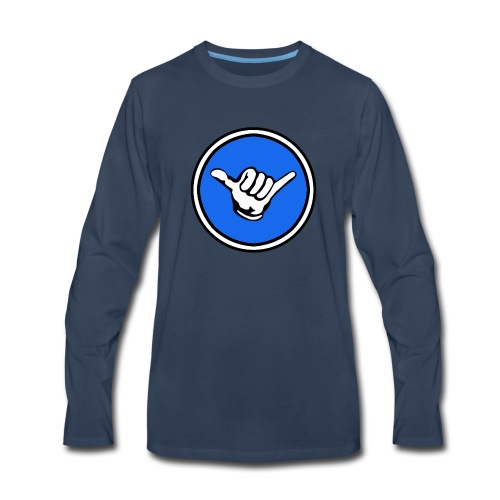Shaka Gaming Main Logo - Men's Premium Long Sleeve T-Shirt