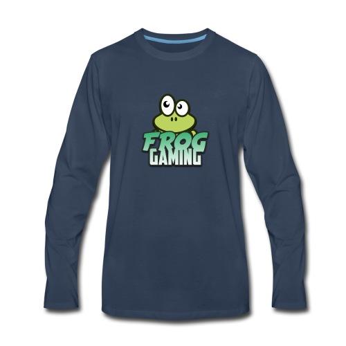 Frog Gaming Logo Transparent - Men's Premium Long Sleeve T-Shirt