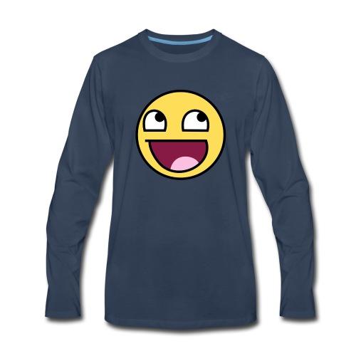 Epic Face - Men's Premium Long Sleeve T-Shirt