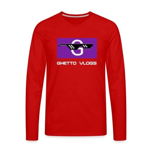 GhettoVlogs - Men's Premium Long Sleeve T-Shirt