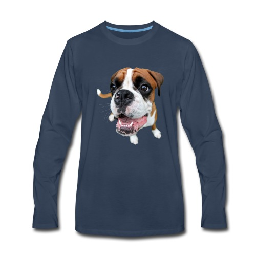 Boxer Rex the dog - Men's Premium Long Sleeve T-Shirt