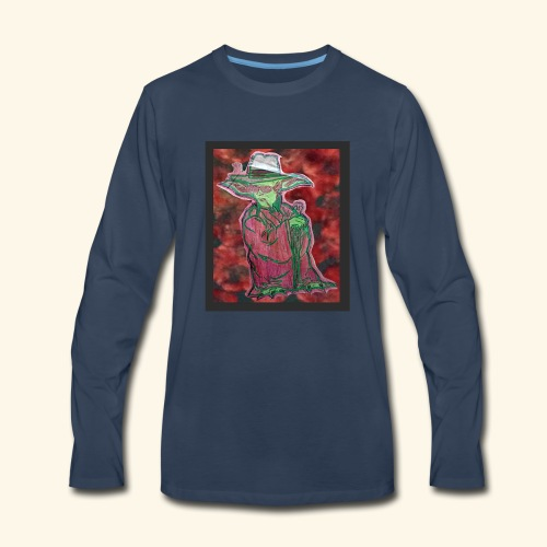 Yoda S. Thompson - Men's Premium Long Sleeve T-Shirt