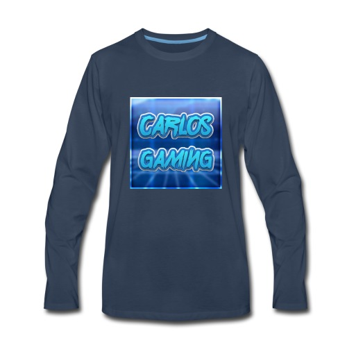 Carlos Gaming merchandise - Men's Premium Long Sleeve T-Shirt