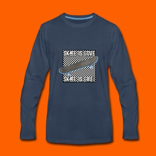 SK8 is Love - Men's Premium Long Sleeve T-Shirt