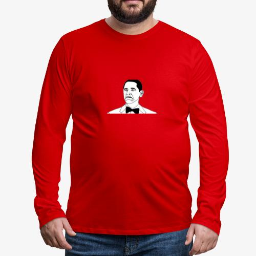 Obama - Men's Premium Long Sleeve T-Shirt
