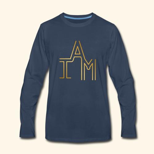 I AM #2 - Men's Premium Long Sleeve T-Shirt