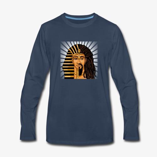 African King DNA - Men's Premium Long Sleeve T-Shirt