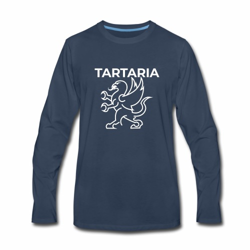 Tartaria: A Forgotten Country (With Flag) - Men's Premium Long Sleeve T-Shirt