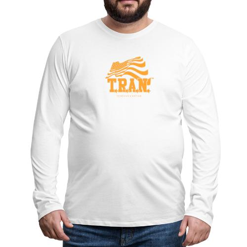 TRAN Gold Club - Men's Premium Long Sleeve T-Shirt
