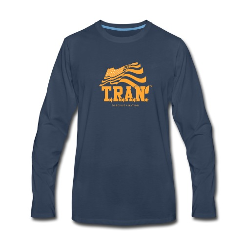 TRAN Gold Club - Men's Premium Long Sleeve T-Shirt