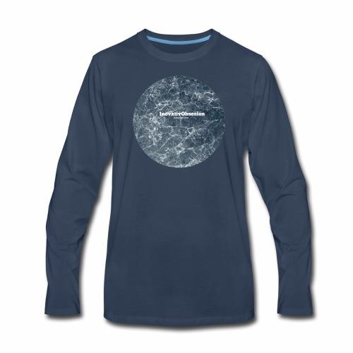 "InovativObsesion ""LEGEND RIPPLE"" apparel - Men's Premium Long Sleeve T-Shirt"