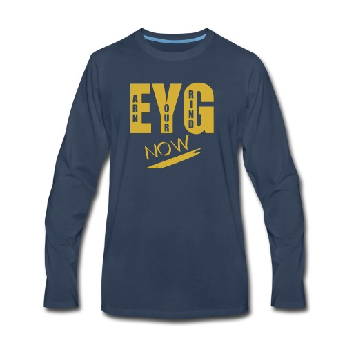 eygnowgo - Men's Premium Long Sleeve T-Shirt