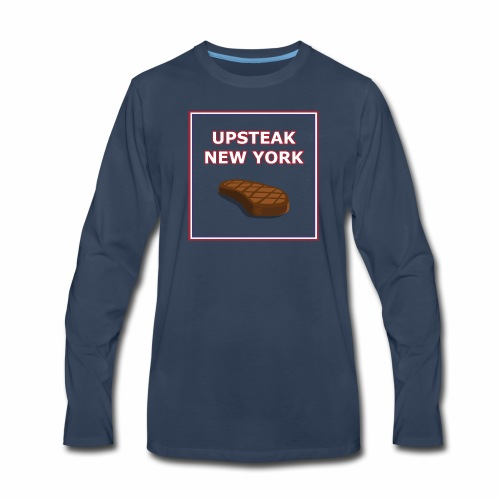 Upsteak New York | July 4 Edition - Men's Premium Long Sleeve T-Shirt
