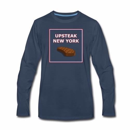 Upsteak New York | July 4 Edition - Men's Premium Long Sleeve T-Shirt