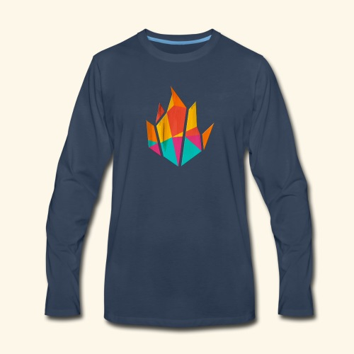Modern Fire - Men's Premium Long Sleeve T-Shirt