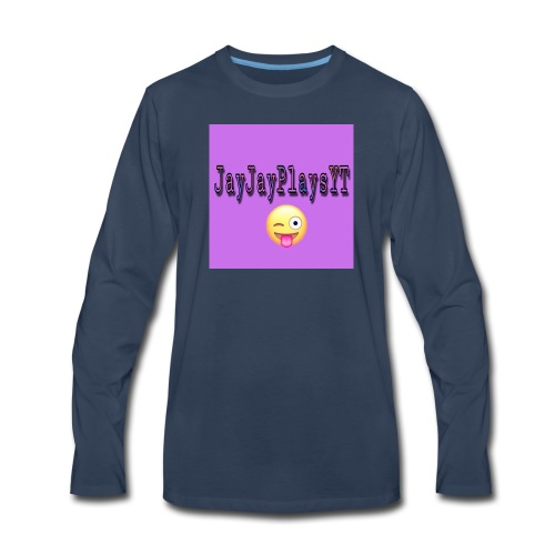 JayJayPlaysYT Shirts! Purple Glaze - Men's Premium Long Sleeve T-Shirt