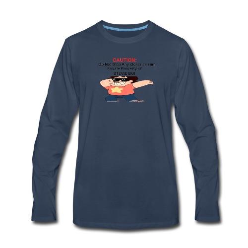 CAUTION - Men's Premium Long Sleeve T-Shirt