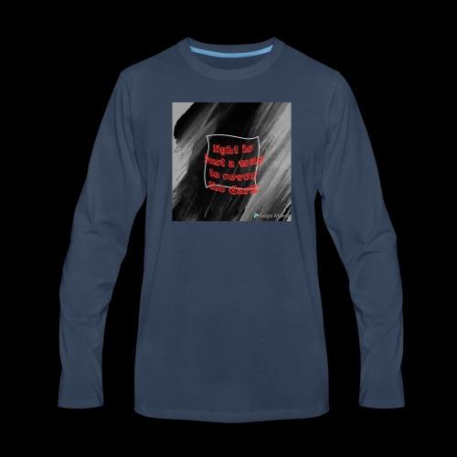 Photo 1526257260716 - Men's Premium Long Sleeve T-Shirt