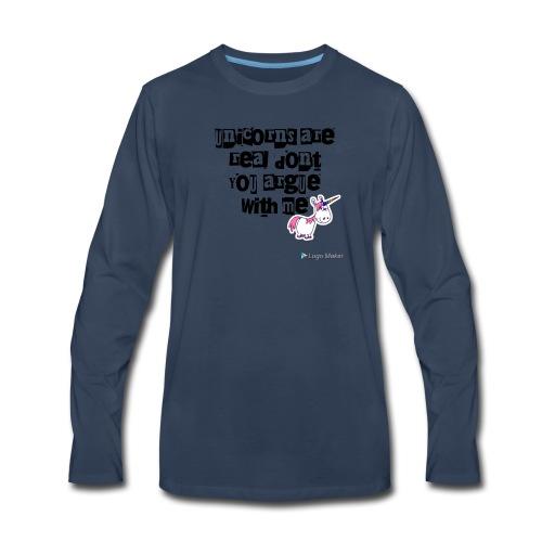 Unolicorns - Men's Premium Long Sleeve T-Shirt