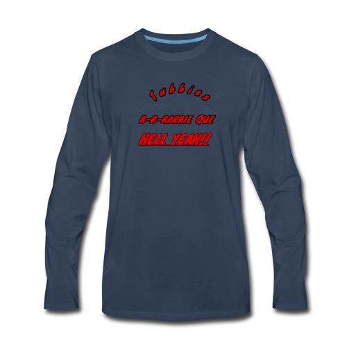bbq - Men's Premium Long Sleeve T-Shirt