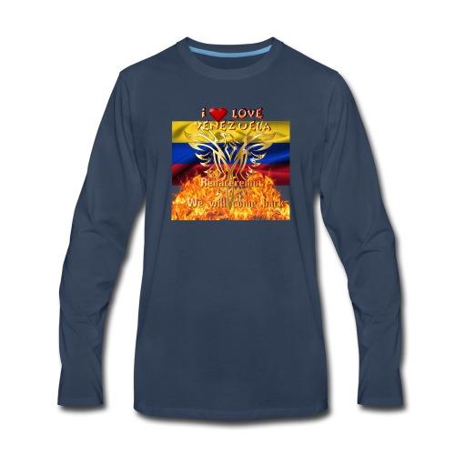 Venezuela reborn - Men's Premium Long Sleeve T-Shirt