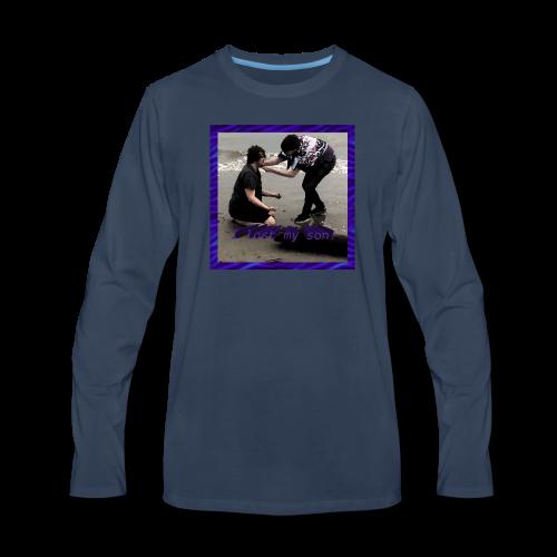 I lost my son! - Men's Premium Long Sleeve T-Shirt
