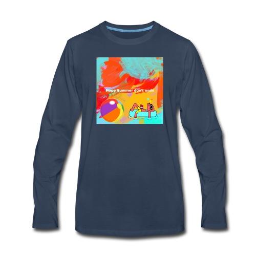 Hope summer don't ends - Men's Premium Long Sleeve T-Shirt
