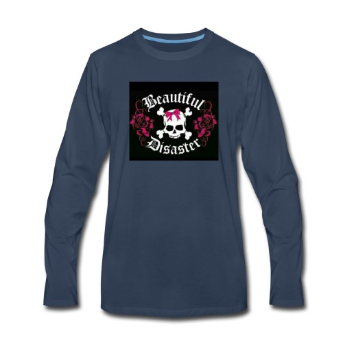 Beautiful Disaster - Men's Premium Long Sleeve T-Shirt