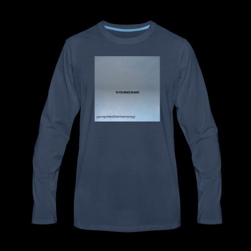 PosterMaker 1524288907561 - Men's Premium Long Sleeve T-Shirt