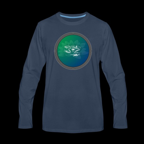 Vintage Frog - Men's Premium Long Sleeve T-Shirt