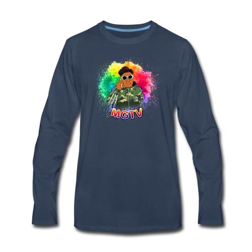 NEW MGTV Clout Shirts - Men's Premium Long Sleeve T-Shirt
